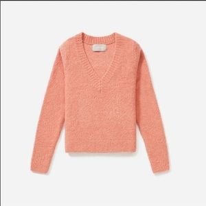 EVERLANE The Teddy V-Neck Sweater Size S